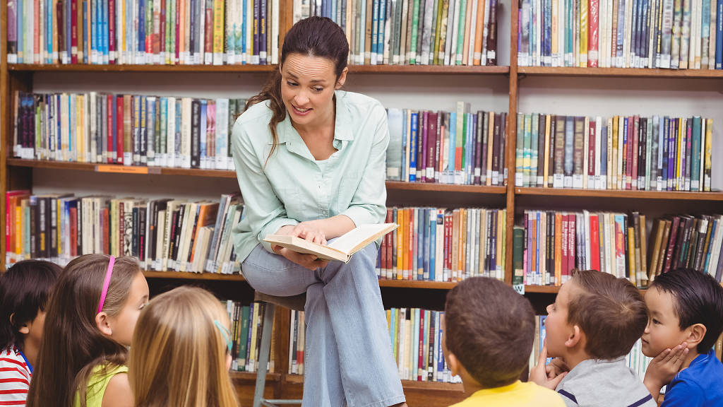 Derechos de los niños a escuchar cuentos